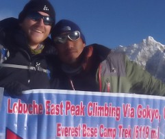 Lobuche East Via Gokyo Chola Pass and EBC Trek