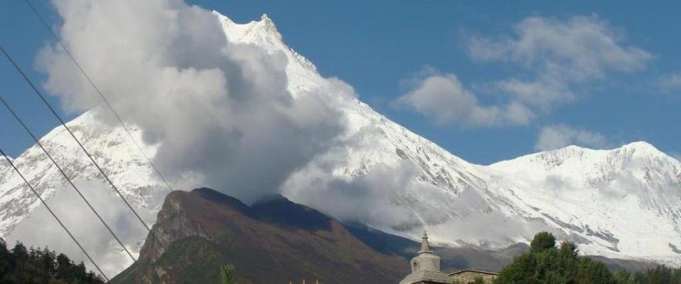 Eighth Highest Mountain Manaslu