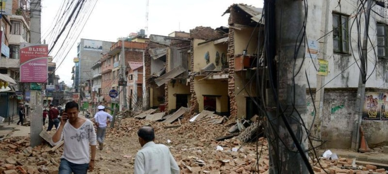 First Earthquake April 2015