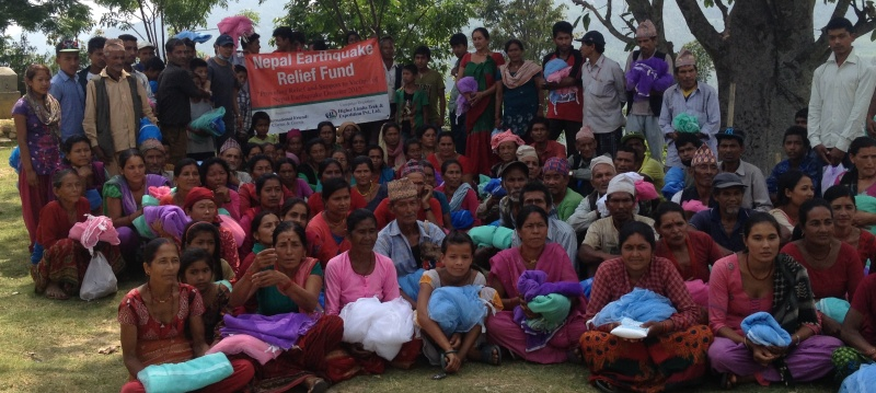 Second Relief Fund Distribution after Earthquake