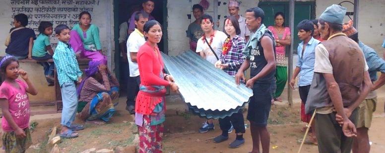 Third Round Relief Materials Distribution