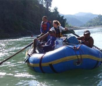 Sunkoshi Rafting with Tamur River