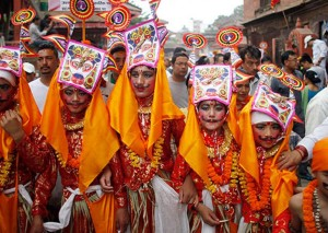 Gaijatra Festival Being Observed Today