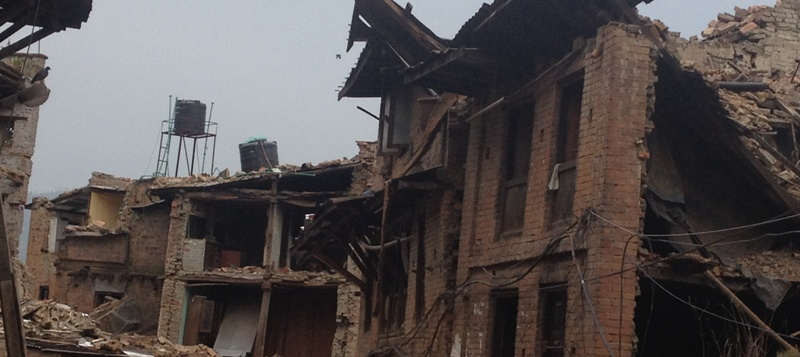 Bhaktapur after Earthquake April 2015
