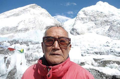 Min Bahadur Sherchan died at Everest Base Camp