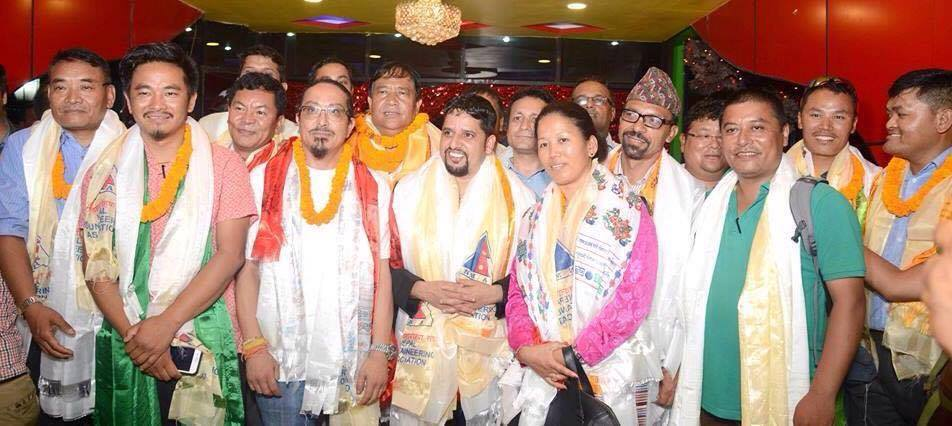 New Executive Board members of Nepal Mountaineering Association (NMA)