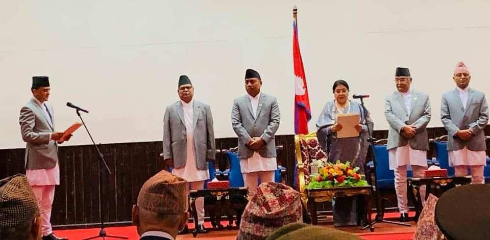 Tourism Minister Yogesh Bhattarai