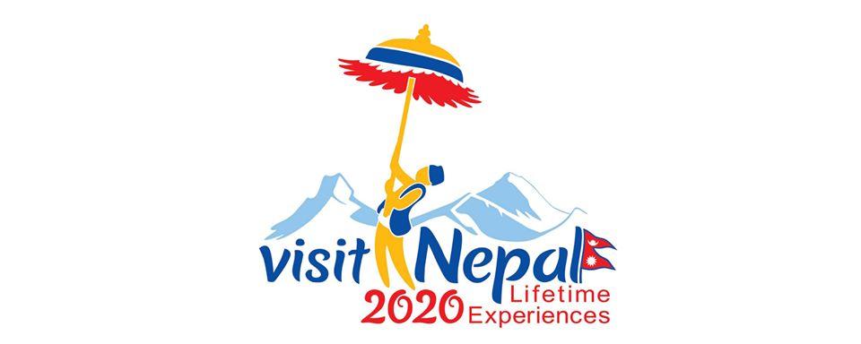 original logo of visit nepal 2020